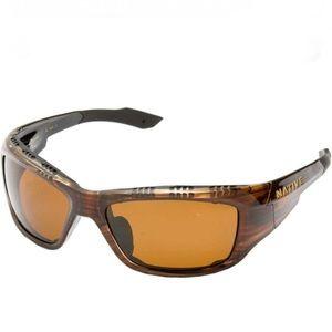 Native Grind sunglasses- wood colored